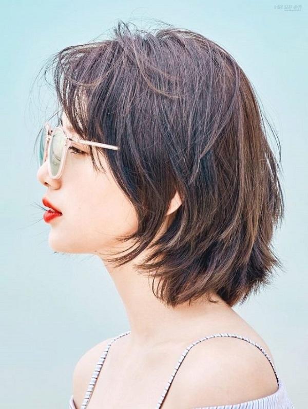 Gợi ý các kiểu tóc ngắn hợp với mặt tròn cho bạn nữ